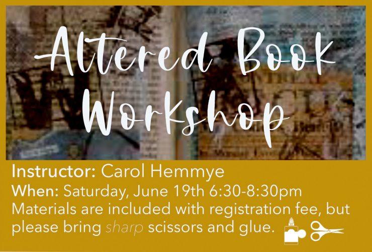 Carol Hemmye Workshop